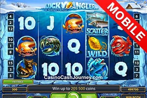 игровой автомат Lucky Angler mobile