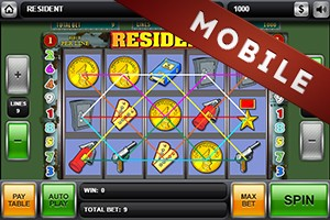 игровой автомат Resident Mobile